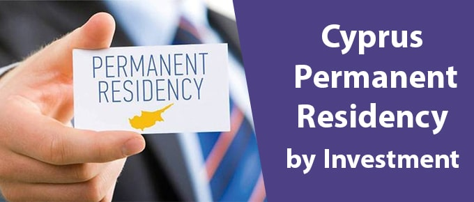 Cyprus Permanent Residency Visa by Investment