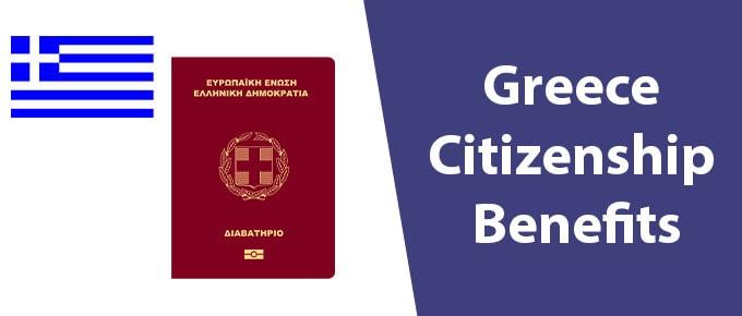 Greece Citizenship Benefits